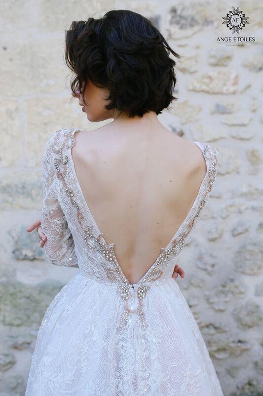 Свадебный салон Ange Etoiles Свадебное платье AEriality Collection  Olivia - фото 2