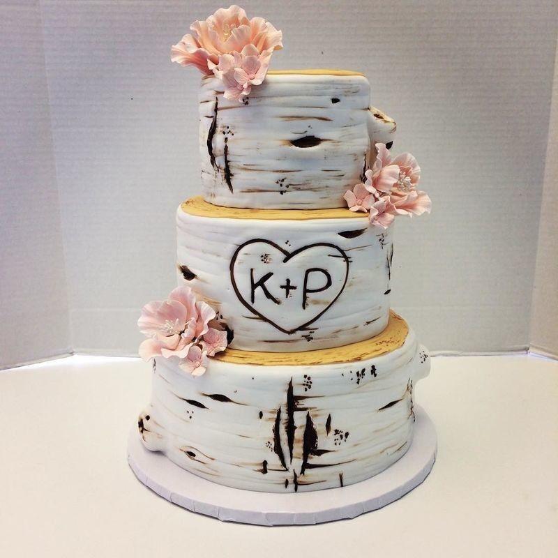 Торт Заказторта.бай Свадебный торт №4 - фото 1