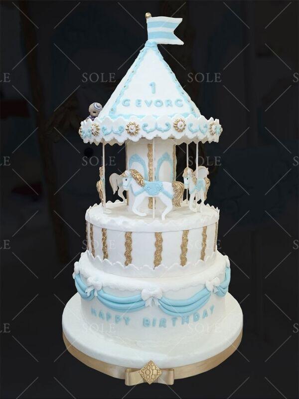 Торт Sole Праздничный торт №44 - фото 1