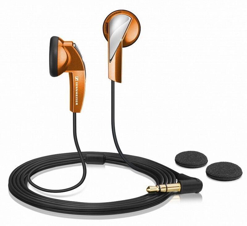 Музыкальный инструмент Sennheiser Наушники MX 365 Orange - фото 1