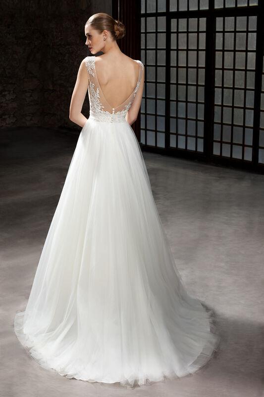 Свадебное платье напрокат Cosmobella Свадебное платье 7826 - фото 2