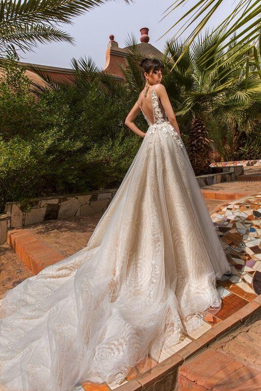 Свадебное платье напрокат Crystal Платье свадебное Rainbow - фото 1
