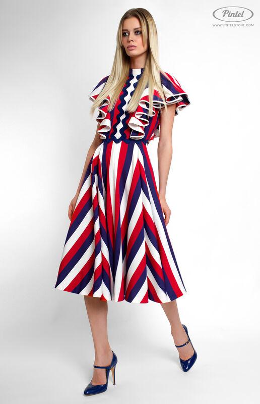 Платье женское Pintel™ Приталенное платье Micheline - фото 1