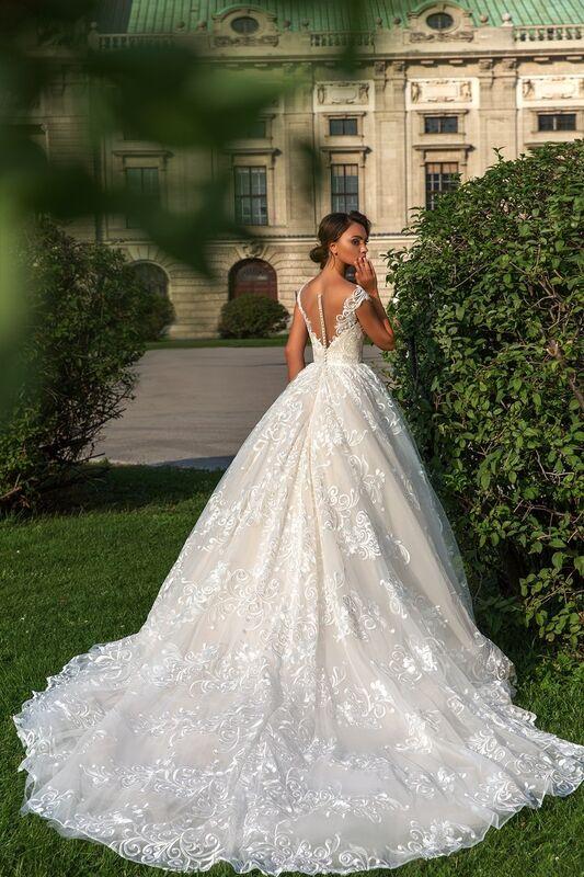 Свадебный салон Crystal Свадебное платье Steffani - фото 3