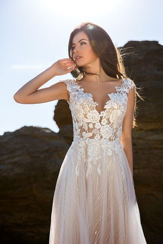 Свадебное платье напрокат Ida Torez Murex Pecten - фото 2