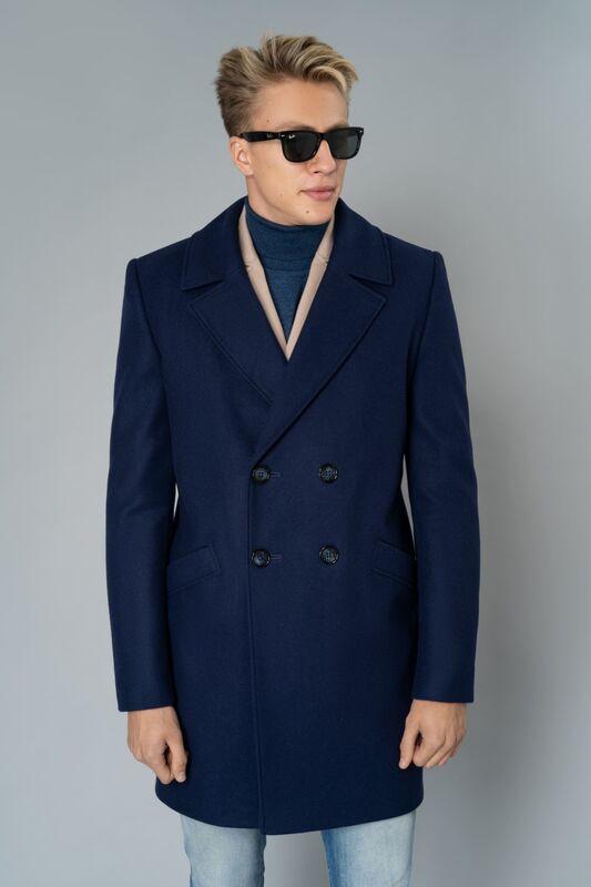 Верхняя одежда мужская Etelier Пальто мужское демисезонное 1М-8952-1 - фото 4