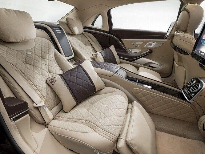 Аренда авто Mercedes-Benz Maybach S-class 2016 г. - фото 5