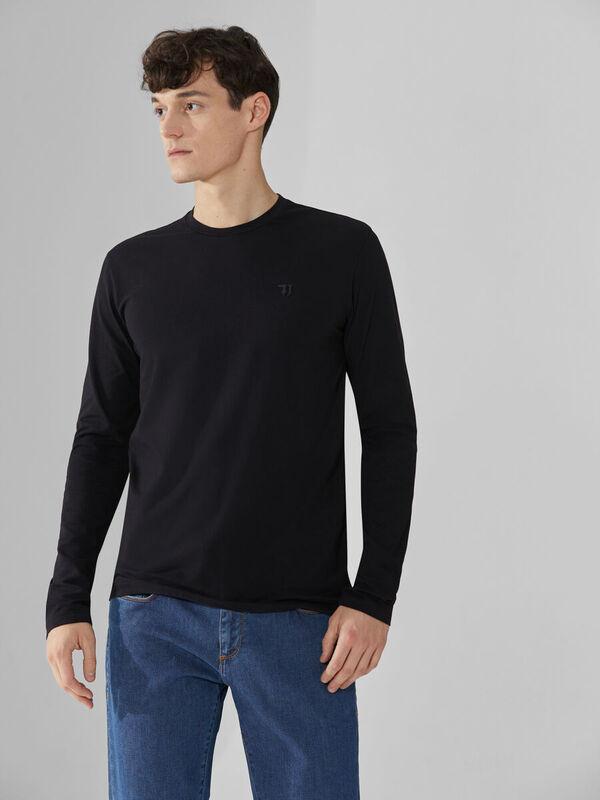 Кофта, рубашка, футболка мужская Trussardi Толстовка мужская 52T00352-1T003614 - фото 1
