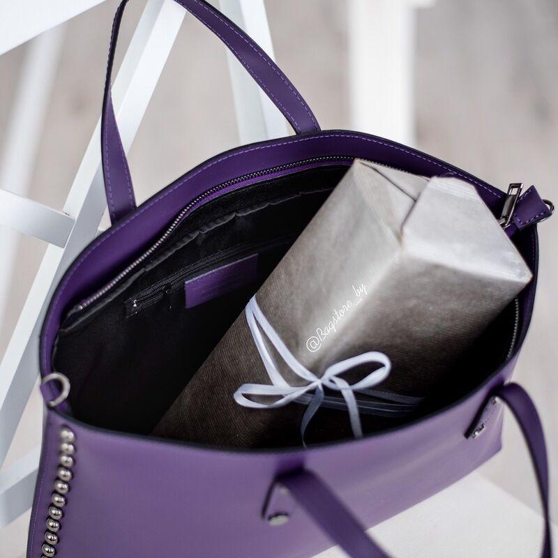Магазин сумок Vezze Кожаная женская сумка C00427 - фото 2