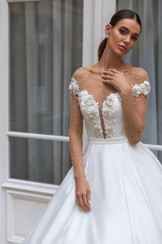"""Свадебное платье напрокат ALIZA свадебное платье """"Sylvy"""" - фото 3"""