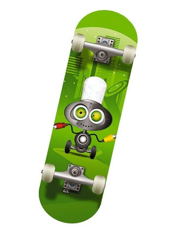 Скейтборд Спортивная коллекция Скейтборд Mini-Board Megavolt - фото 1