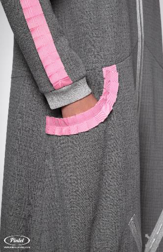 Платье женское Pintel™ Удлинённое платье-куртка  Limari - фото 5