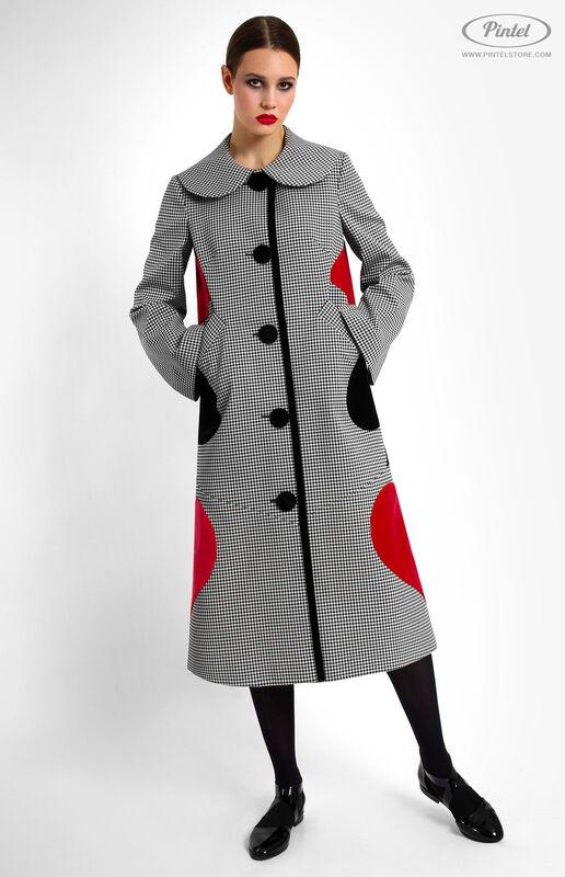 Верхняя одежда женская Pintel™ Однобортное пальто Samióna - фото 2