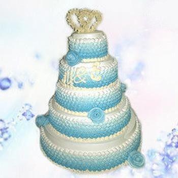 Торт Милано Свадебный торт №6 - фото 1