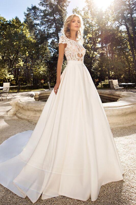 Свадебное платье напрокат Cosmobella Свадебное платье Shabli - фото 1