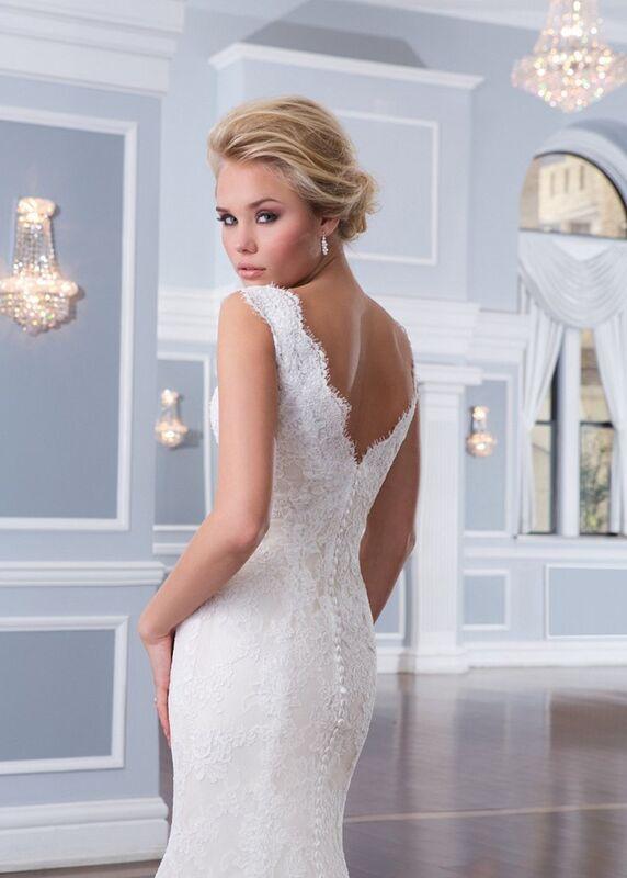 Свадебное платье напрокат Lillian West Платье свадебное «Amalie» - фото 3