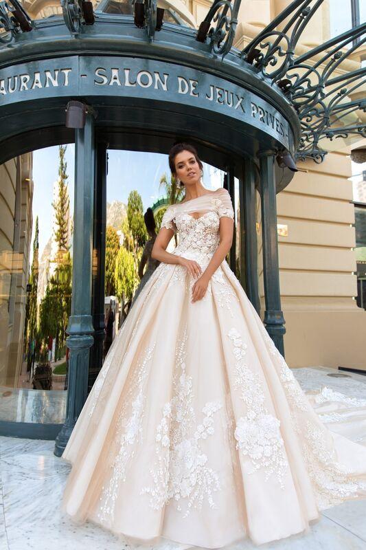 Свадебный салон Crystal Платье свадебное Emilia - фото 3
