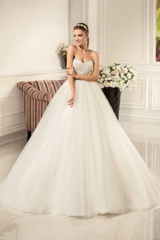 Свадебное платье напрокат Nora Naviano Платье свадебное Alexandra - фото 1
