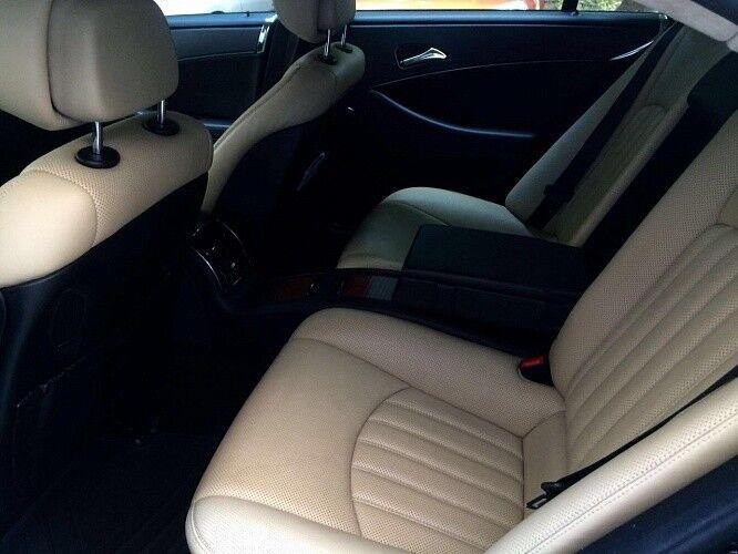 Прокат авто Mercedes-Benz W219 CLS Чёрного цвета - фото 8