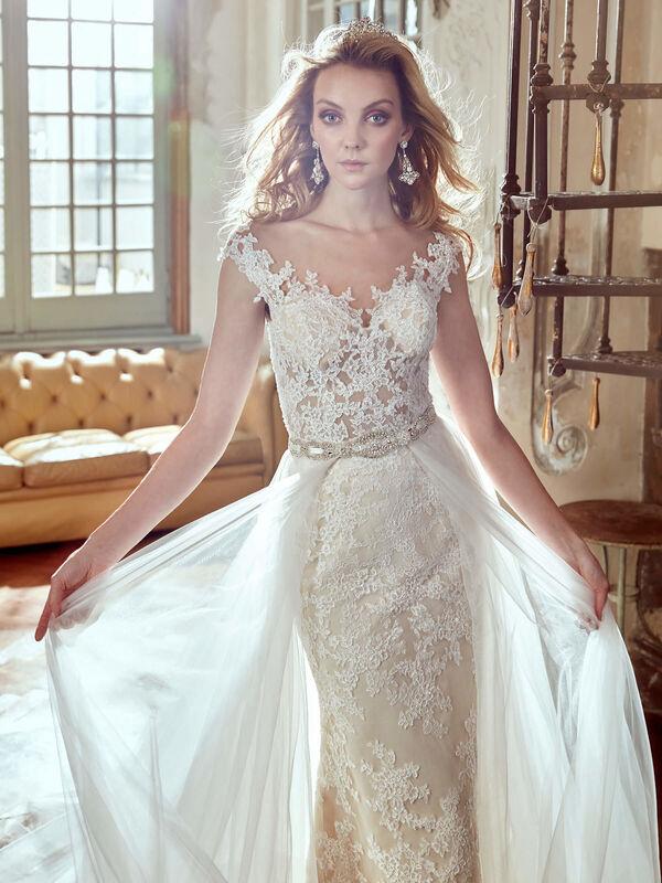 Свадебное платье напрокат Nicole Платье свадебное Corsica - фото 2