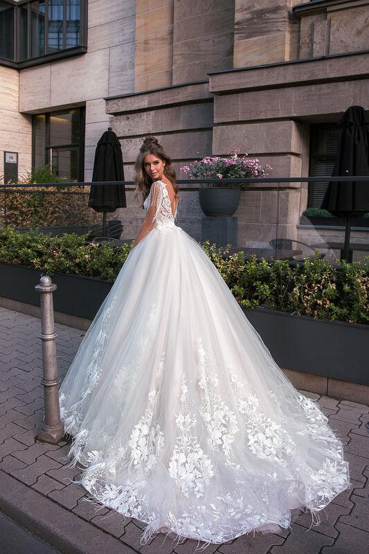 Свадебное платье напрокат Vanilla room Платье свадебное София - фото 3