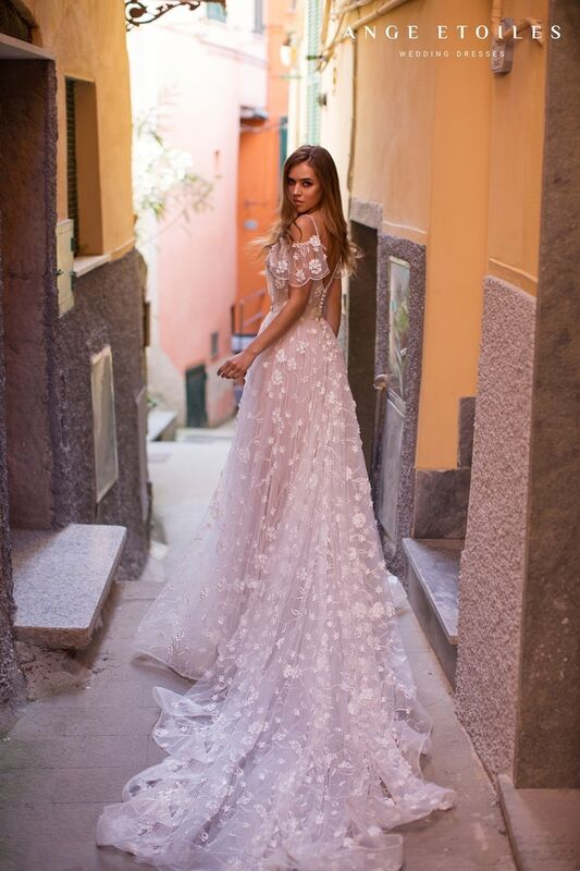 Свадебное платье напрокат Ange Etoiles Свадебное платье Ali Damore  Tania - фото 3