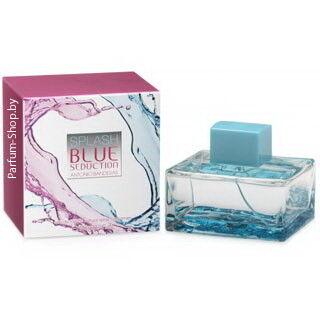 Парфюмерия Antonio Banderas Туалетная вода Splash Blue Seduction for Women, 100 мл - фото 1