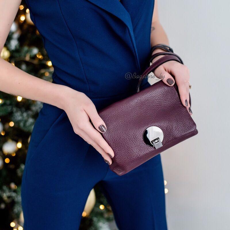 Магазин сумок Vezze Кожаная женская сумка C00424 - фото 2
