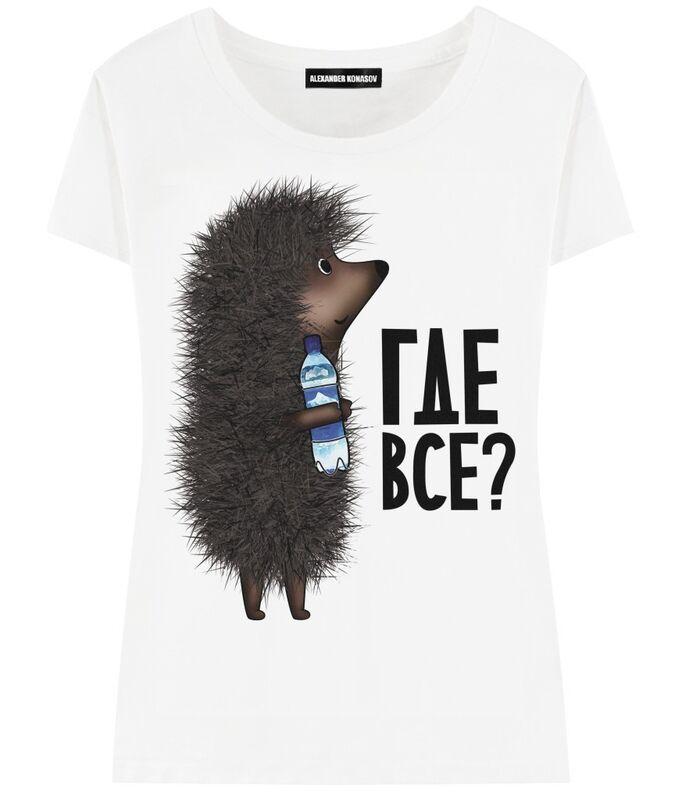 Кофта, блузка, футболка женская ALEXANDER KONASOV Футболка женская 14 - фото 1