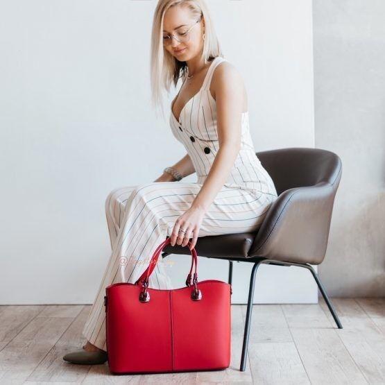 Магазин сумок Vezze Кожаная женская сумка C00493 - фото 1
