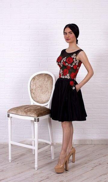 Вечернее платье Shkafpodrugi Платье комбинированное 2132 - фото 2
