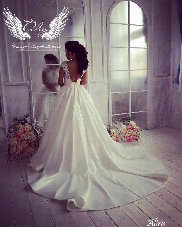 Свадебный салон ALIZA Платье свадебное «Alira» Ameli Benya - фото 4