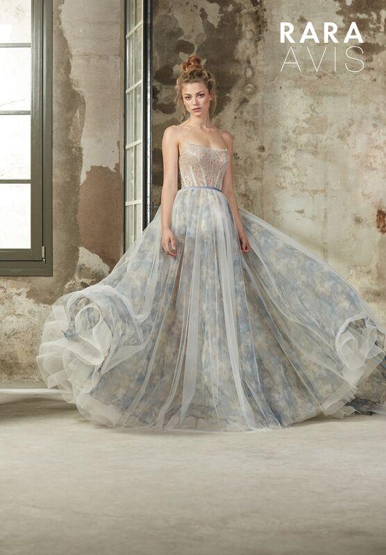 Свадебное платье напрокат Rara Avis Платье свадебное Floral Paradise  Beki - фото 1