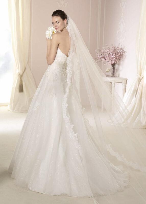 Свадебное платье напрокат White One (Pronovias) Платье свадебное «Darcy» - фото 2