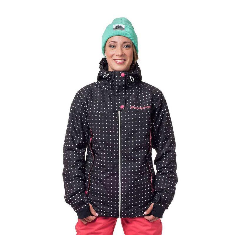 Спортивная одежда Horsefeathers Сноубордическая куртка Marin 1516 черная - фото 1