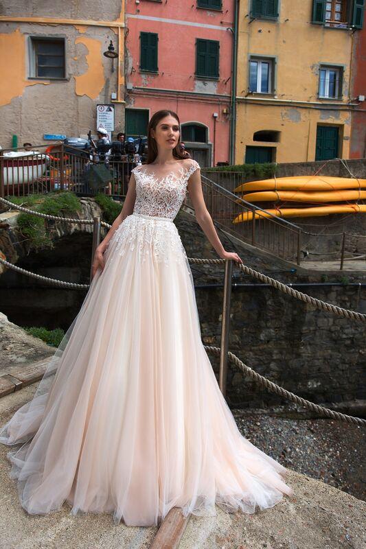 Свадебное платье напрокат ALIZA Свадебное платье Molly - фото 1