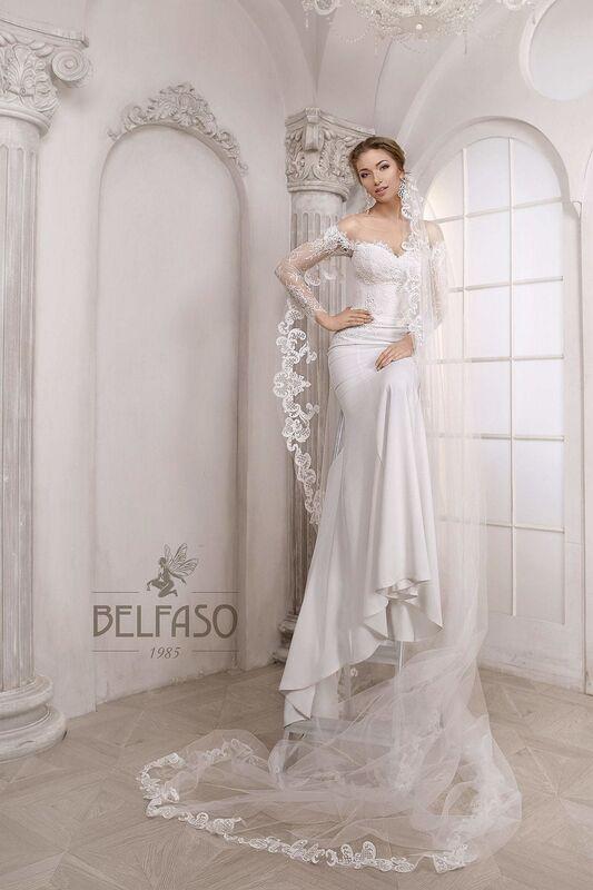 Свадебное платье напрокат Belfaso Платье свадебное Shantolie - фото 5