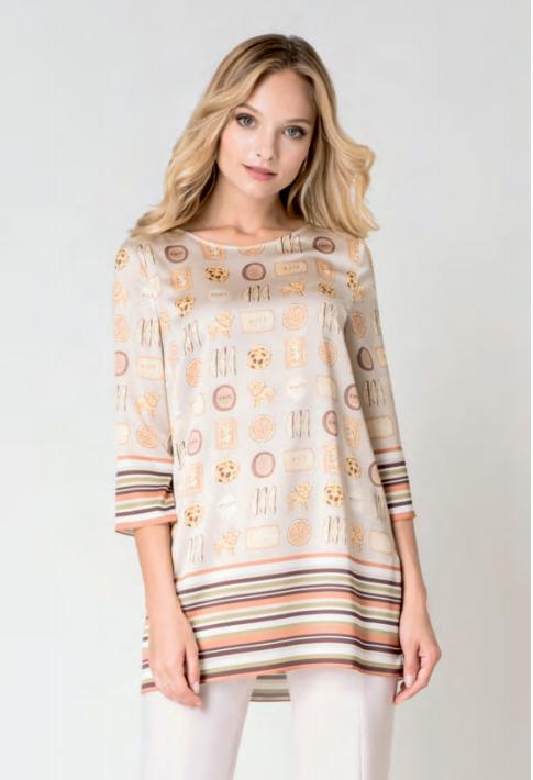 Кофта, блузка, футболка женская Elema Блузка женская 2К-8764-1 - фото 1