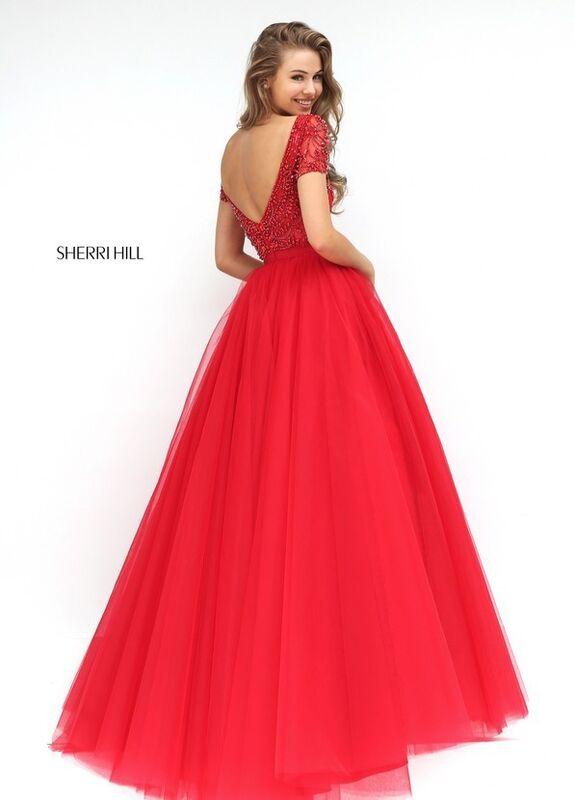Свадебное платье напрокат Sherri Hill Платье свадебное 50710 - фото 6
