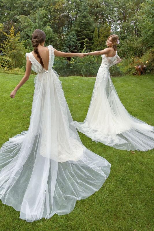 Свадебный салон Papilio Свадебное платье «Моризо» модель 19/2000 - фото 3