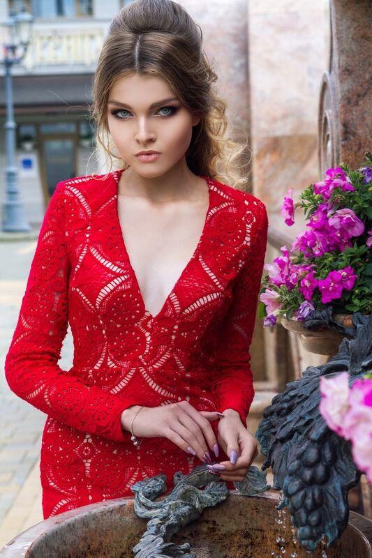 Вечернее платье Shkafpodrugi Эффектное кружевное платье - фото 3