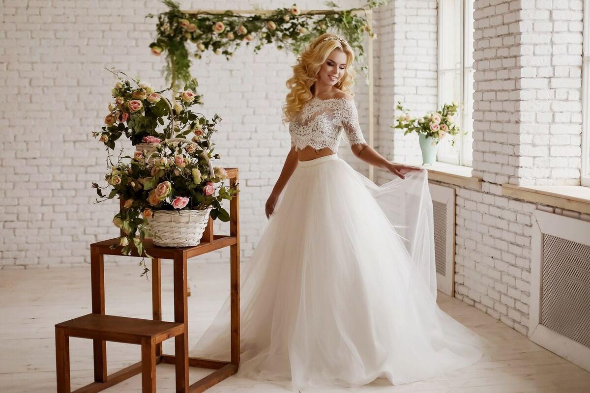 Свадебный салон ALIZA Свадебное платье «Emmira» Soffito - фото 6