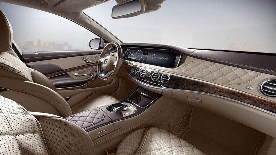 Аренда авто Mercedes-Benz Maybach S-class 2016 г. - фото 7