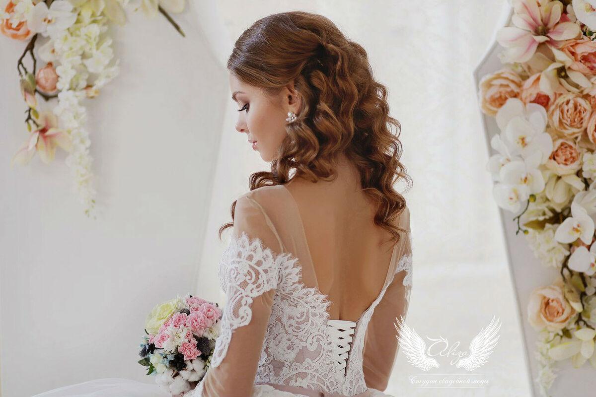 Свадебное платье напрокат ALIZA Платье свадебное «Amor 2» Soffito - фото 6