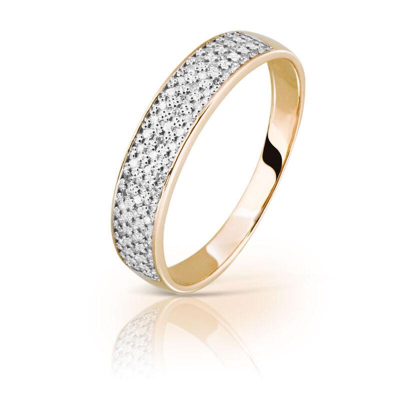 Ювелирный салон Jeweller Karat Кольцо золотое с бриллиантами арт. 1214511 - фото 1