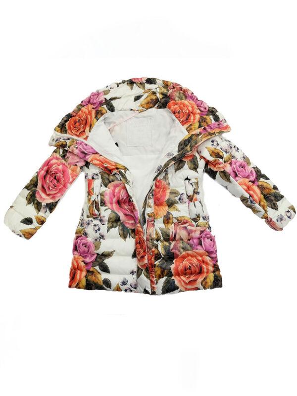 Верхняя одежда детская Monnalisa Пальто для девочки 196120 6086 0001 - фото 3