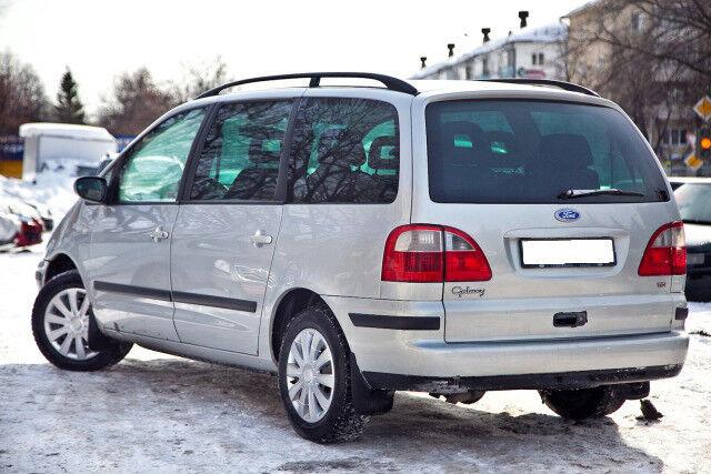 Прокат авто Ford Galaxy 2003 г.в. - фото 2