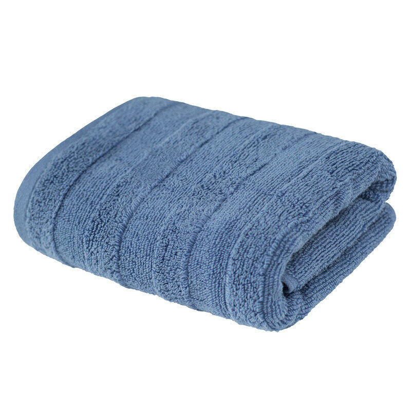 Подарок Ecotex Набор полотенец махровых «Авеню» серо-голубой, 2 шт - фото 1