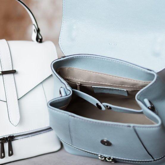 Магазин сумок Vezze Кожаный женский рюкзак  С00484 - фото 3