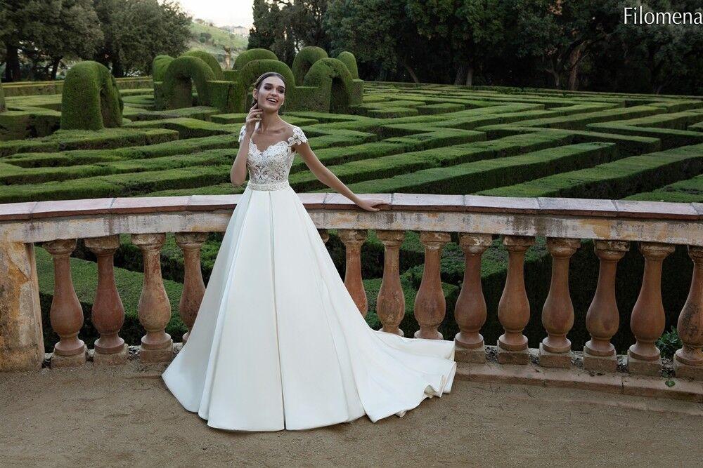 Свадебное платье напрокат Bonjour Платье свадебное «Filomena» из коллекции LA POESIE 2017 - фото 6